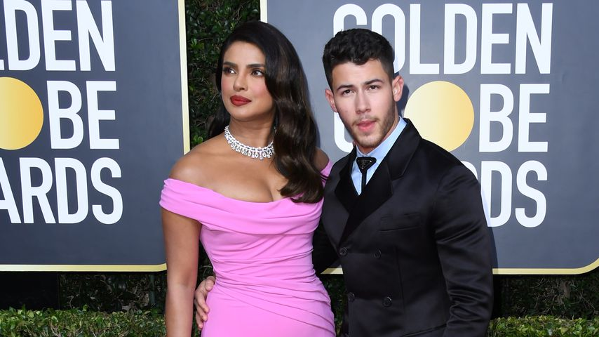 Priyanka Chopra und Nick Jonas bei den Golden Globes 2020