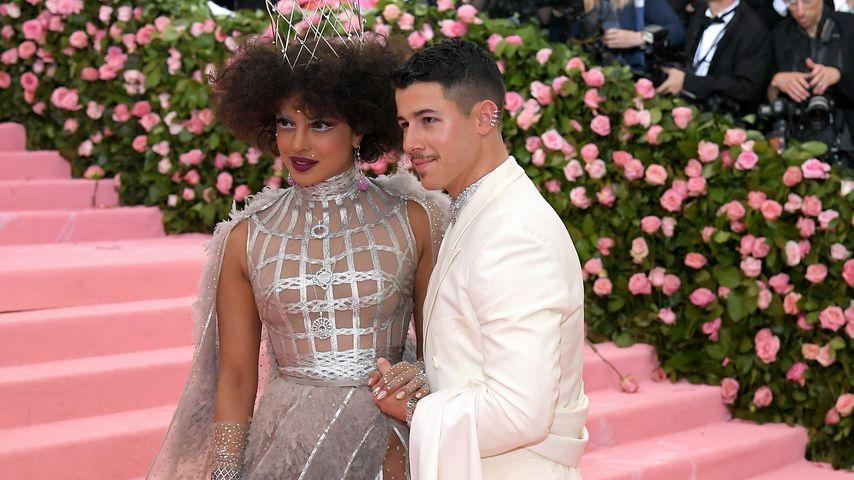 Priyanka Chopra und ihr Ehemann Nick Jonas auf der Met Gala 2019