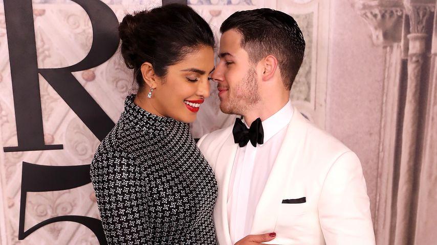 Priyanka Chopra und ihr Verlobter Nick Jonas, September 2018