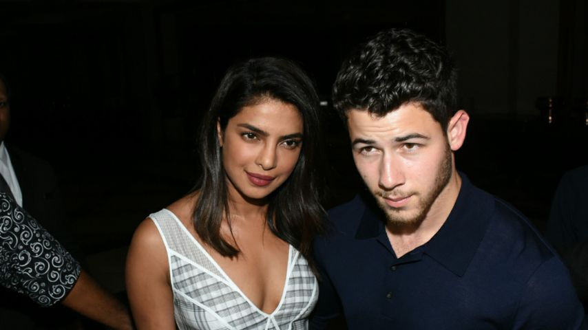 Priyanka Chopra und Nick Jonas in Mumbai, August 2018