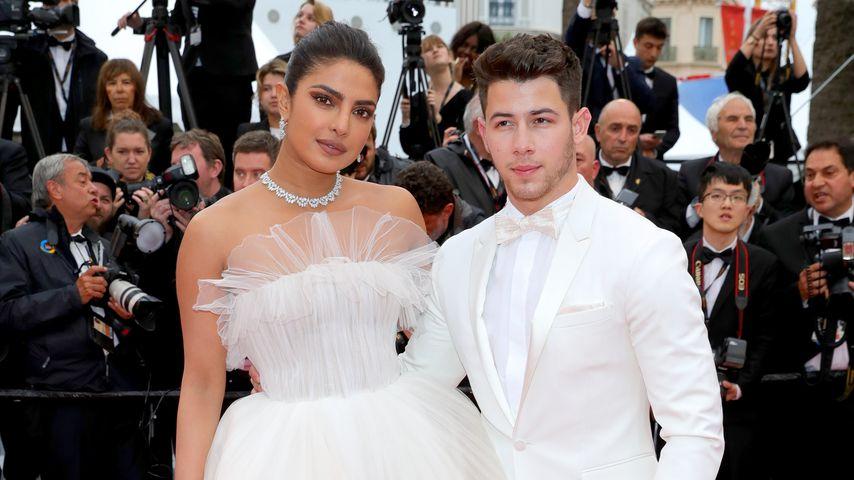 Schauspielerin Priyanka Chopra und ihr Mann Nick Jonas beim Cannes Film Festival, 2019