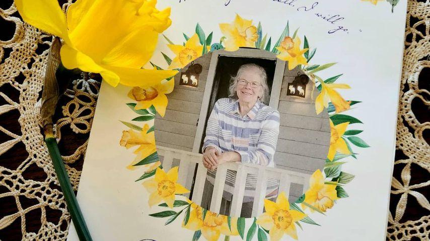 Programm der Beerdigung von Meri Browns Mutter Bonnie