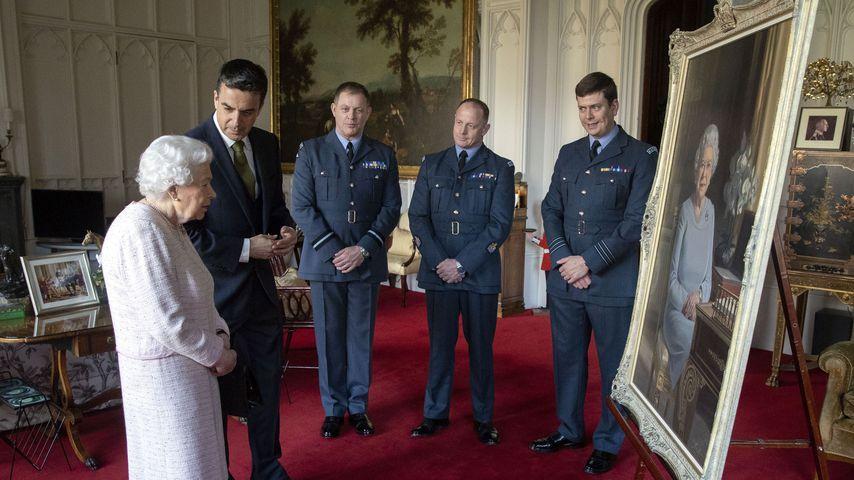 Queen Elizabeth II. in Windsor