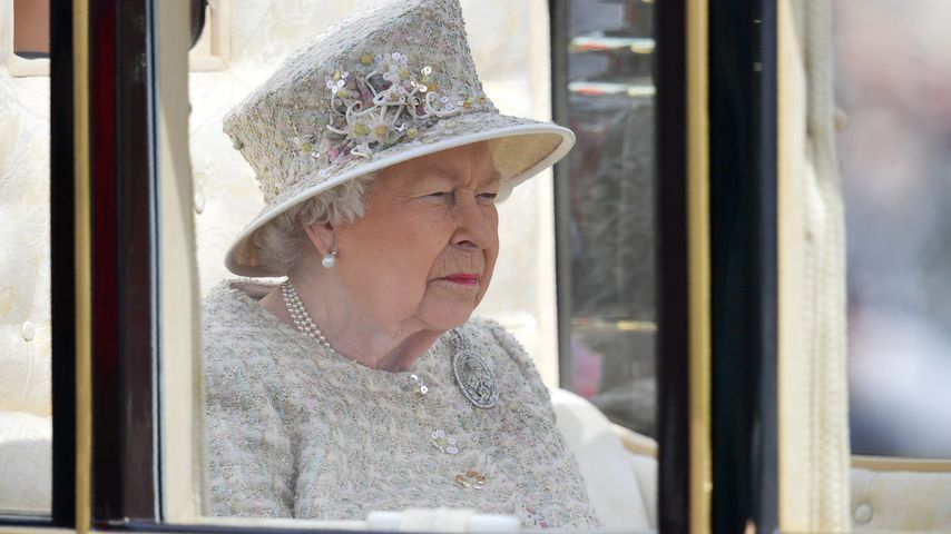 Queen Elizabeth II. beim Trooping the Colour-Event in London