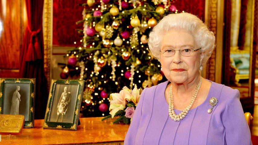 Queen Elizabeth II. an Weihnachten 2014