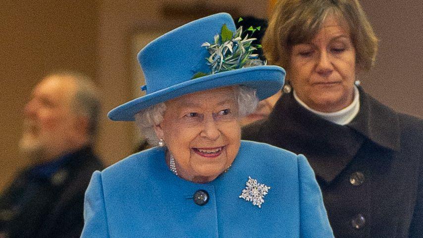 Queen Elizabeth II. in West Newton