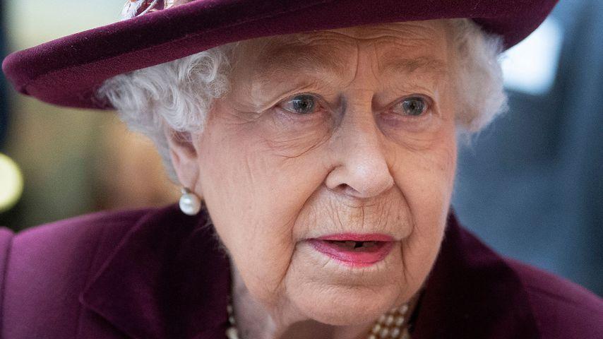 Queen Elizabeth II. bei einem MI5-Besuch in London im Februar 2020