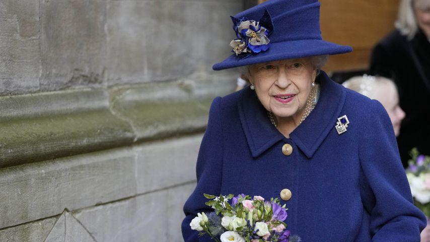 Queen Elizabeth II. in der Westminster Abbey