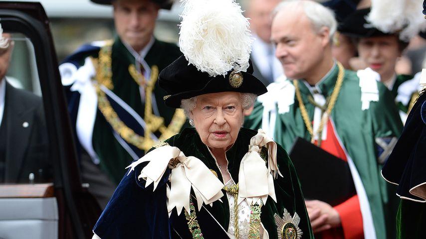 Queen Elizabeth II. in Edinburgh