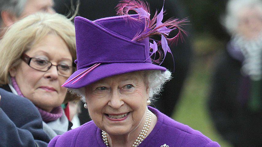Queen Elizabeth II. in Sandringham, England
