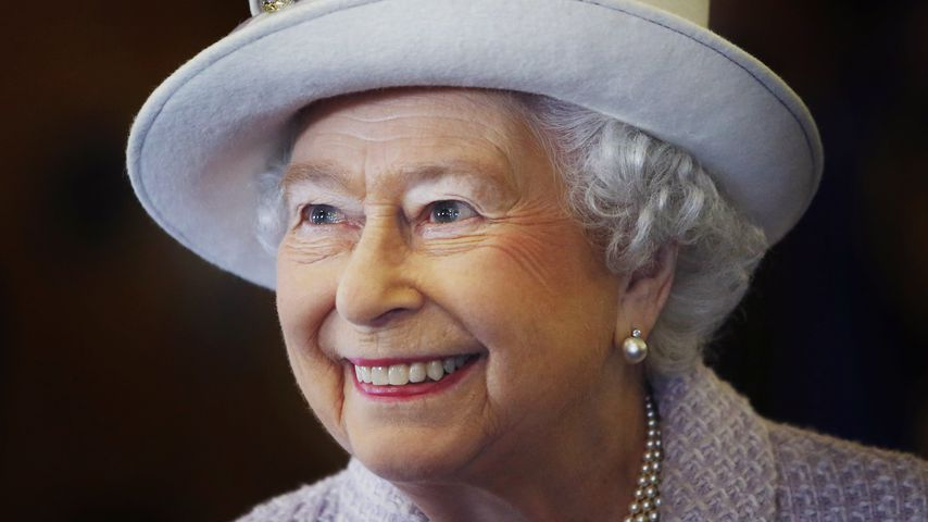 Queen Elizabeth II. in Schottland im November 2014