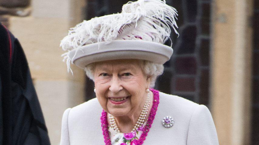 Queen Elizabeth II. an Weihnachten 2018