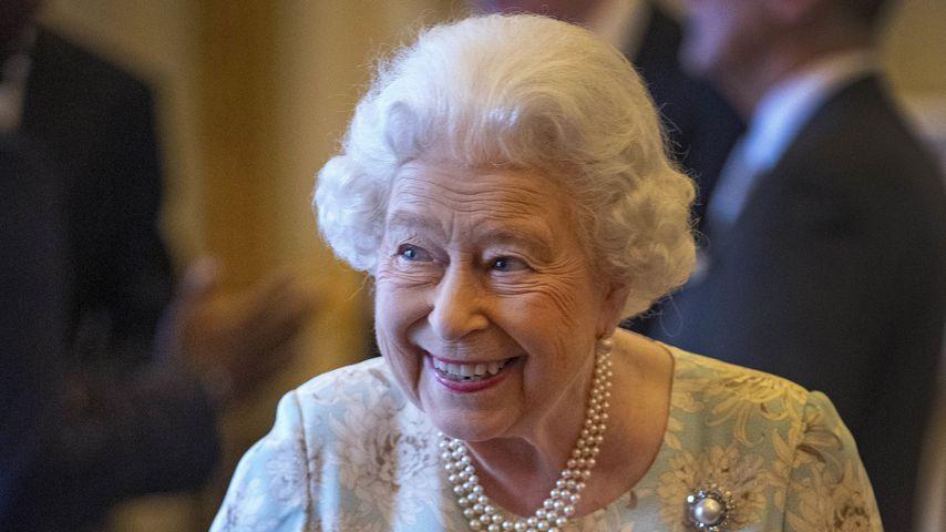 Queen Elizabeth II. im Buckingham Palace, 2019