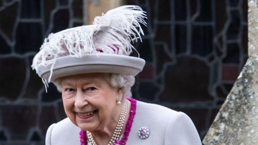 Queen Elizabeth II. beim Weihnachts-Gottesdienst