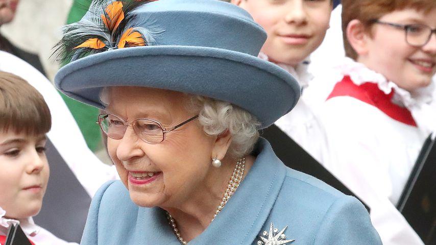Queen Elizabeth II im März 2020