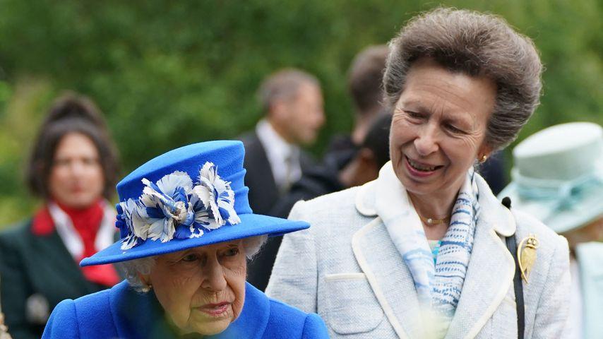 Queen Elizabeth II. und Prinzessin Anne im Juni 2021 in Schottland