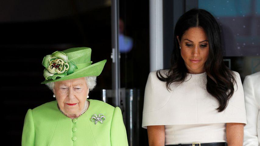 Die Queen schickte Meghan vor Heirat zum Fruchtbarkeitstest