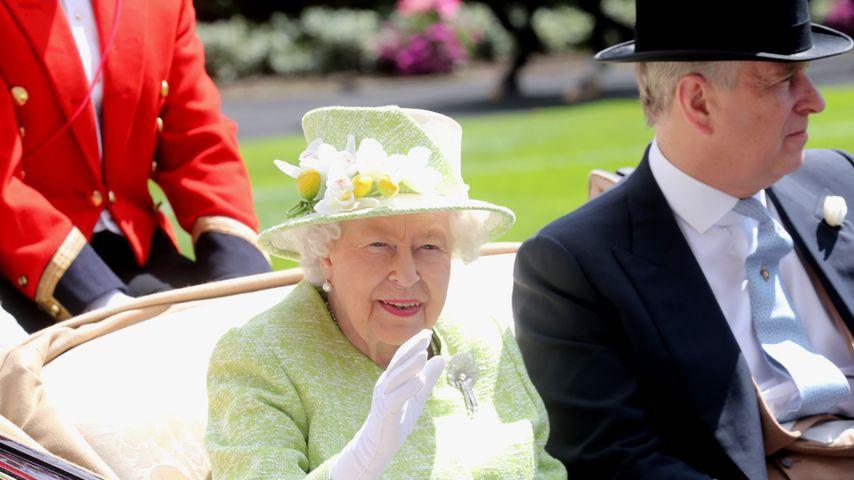 Bei Megxit: Queen lässt sich von Prinz Andrew unterstützen