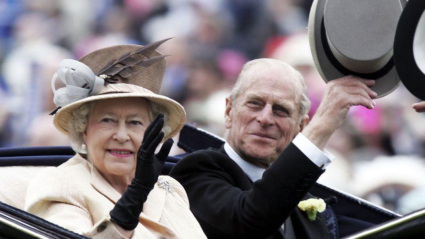 Queen Elizabeth II. und Prinz Philip 2005