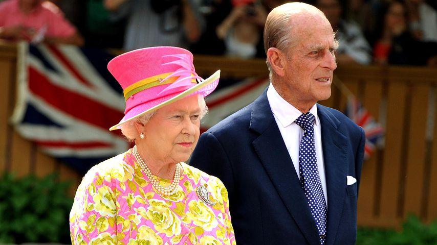 Queen Elizabeth II. und Prinz Philip im Jahr 2010