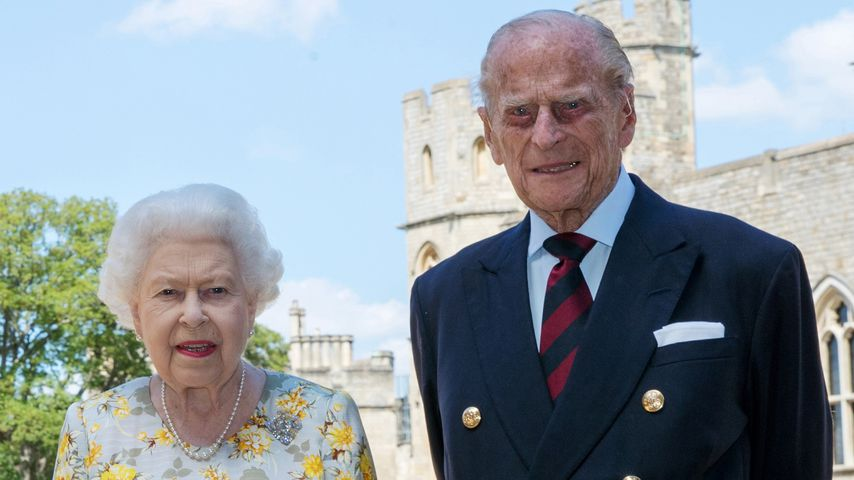 Queen Elizabeth II. und Prinz Philip in Windsor, Juni 2020