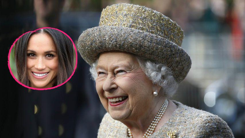 Königliches Familien-Glück: Die Queen freut sich auf Meghan!