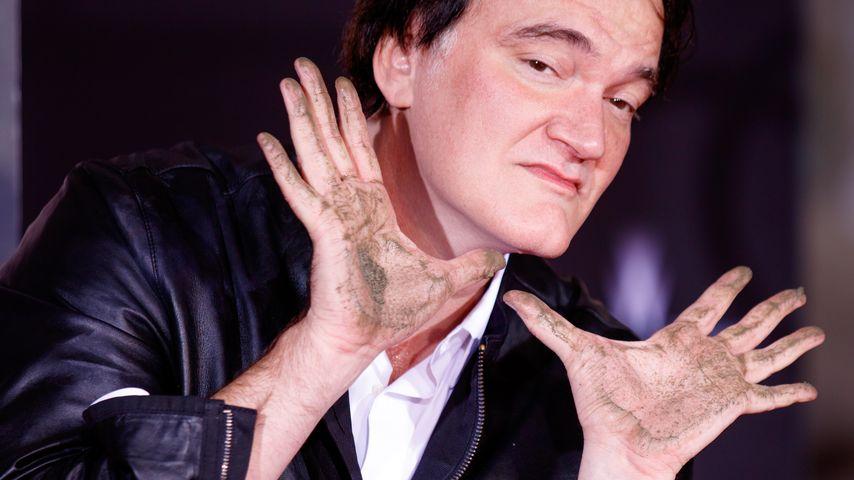 "Quentin Tarantino: ""F*ck""-Botschaft auf Hollywood-Boulevard"