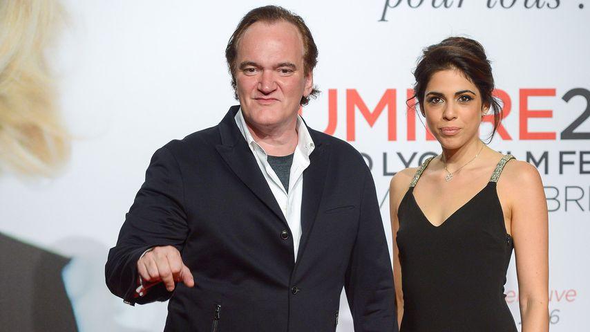 Quentin Tarantino und Daniella Pick in Lyon