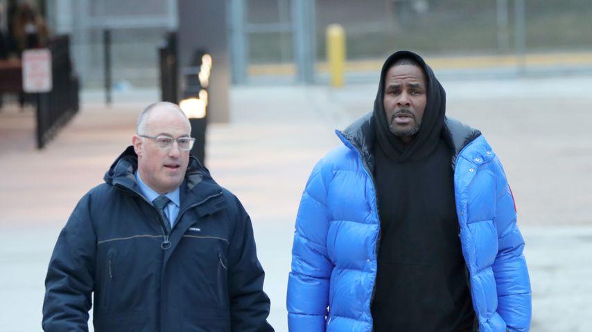 R. Kelly vor dem Chicagoer Cook County Gefängnis, Februar 2019