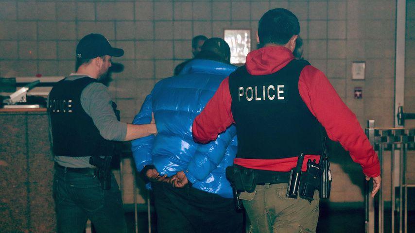 R. Kelly bei seiner Festnahme im Februar 2019