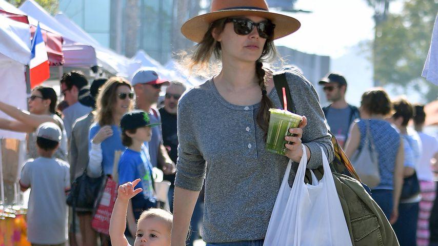 Rachel Bilson und Tochter Briar in Los Angeles