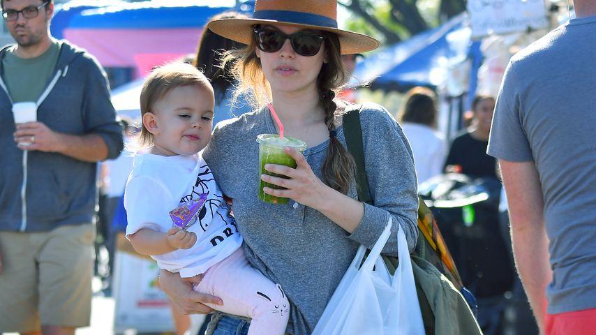 Rachel Bilson mit Töchterchen Briar in LA