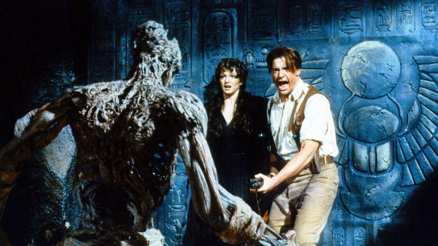 """Rachel Weisz und Brendan Fraser in """"Die Mumie"""", 1999"""