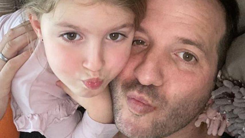 Rafael van der Vaart mit Töchterchen Jesslynn