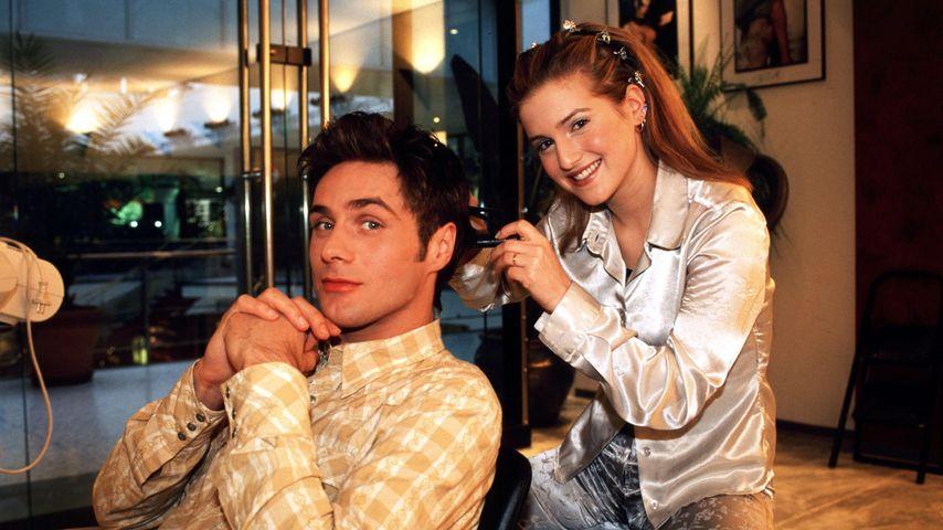 Rainer Meifert und Jeanette Biedermann, 1999