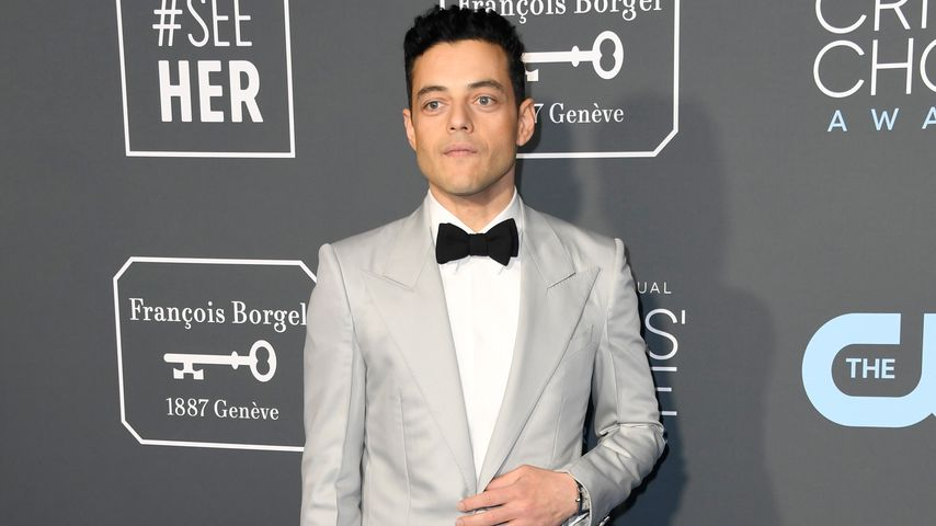 Rami Malek bei den Critics' Choice Awards im Januar 2019