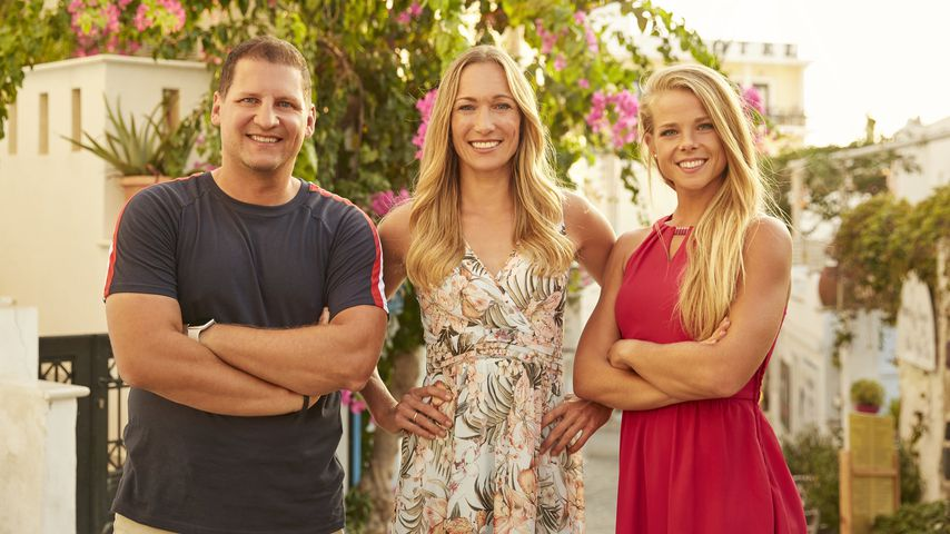 "Ramin Abtin, Christine Theiss und Petra Arvela von ""The Biggest Loser"""