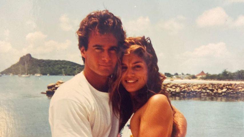 Rande Gerber und Cindy Crawford 1994