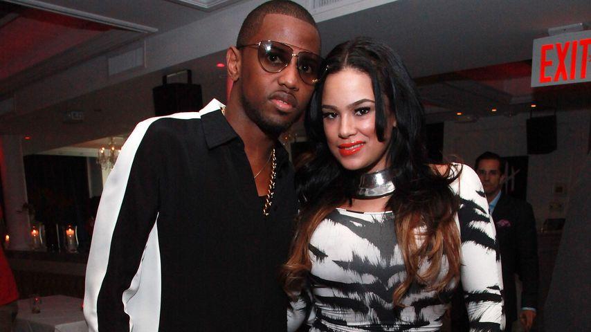Fabolous und Emily B auf einer Party in New York City