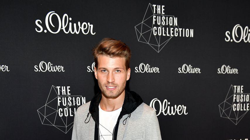 Raúl Richter bei einer s. Olier Fashion Show 2017