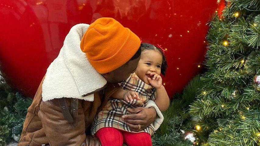 Ray J mit seiner Tochter Melody