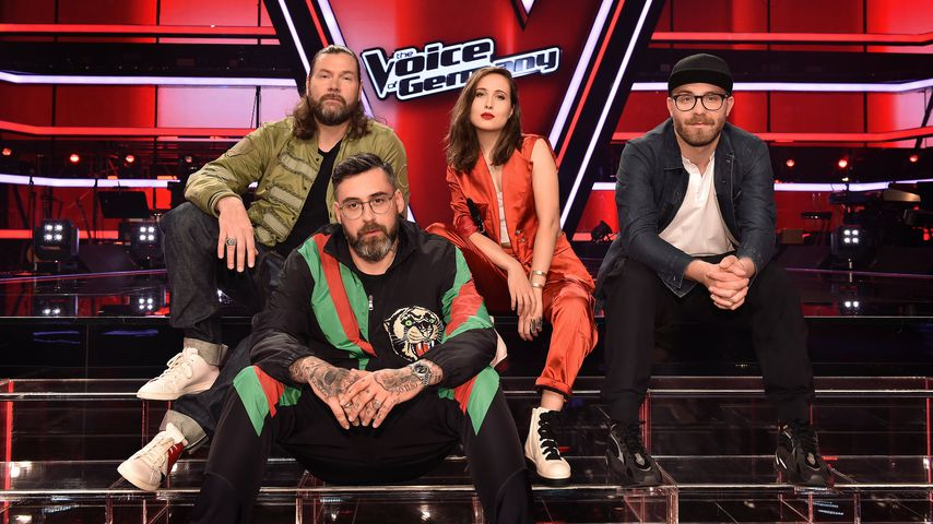 "Rea Garvey, Sido, Alice Merton und Mark Forster, ""The Voice of Germany""-Coaches 2019"