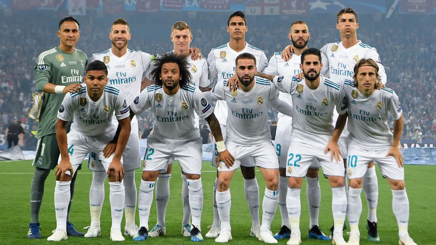 Real Madrid beim Champions League-Finale