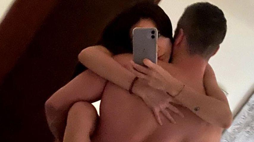 Reality-TV-Star Anastasiya Avilova mit ihrem neuen Freund