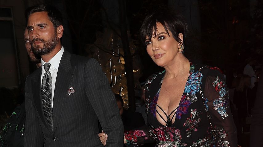 Reality-TV-Star Scott Disick und Kris Jenner vertraut