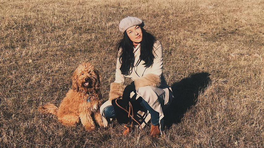 Am Angelhaken verletzt: Rebecca Mirs Hund wurde operiert