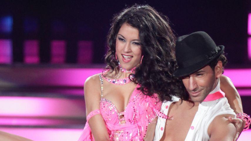 """Rebecca Mir und Massimo Sinató 2012 bei """"Let's Dance"""""""
