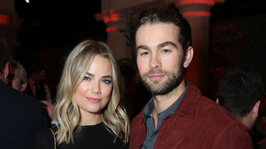 Rebecca Rittenhouse und Chace Crawford im September 2017