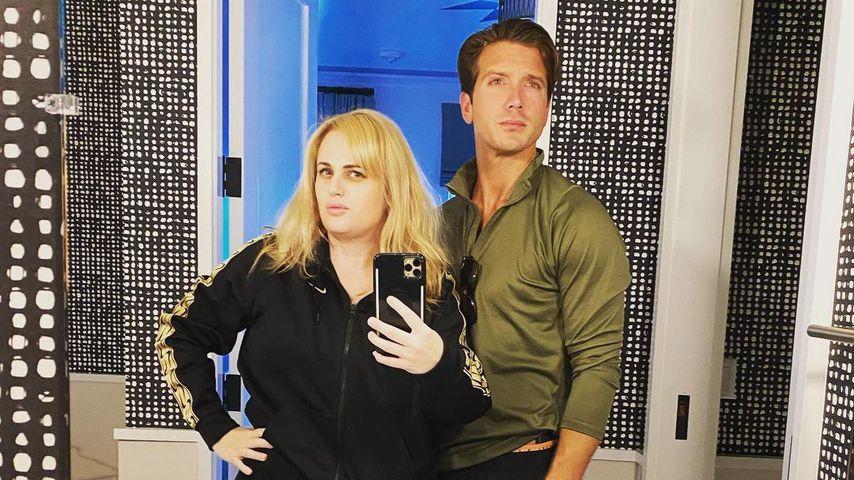 Rebel Wilson mit ihrem Freund Jacob Busch im Oktober 2020