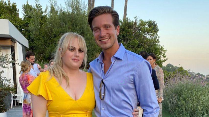 Rebel Wilson und ein Freund im August 2020
